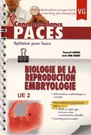 Biologie de la reproduction Embryologie optimisé pour Tours - vernazobres grego - 9782818314302 -