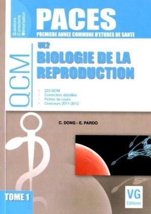 Biologie de la reproduction UE2 Tome 1 - vernazobres grego - 9782818315071