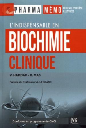 Biochimie clinique - vernazobres grego - 9782818317372 -