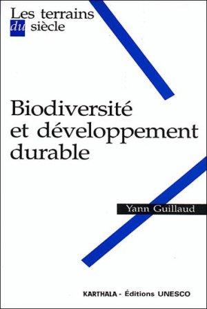 Biodiversité et développement durable - karthala - 9782845867932 -