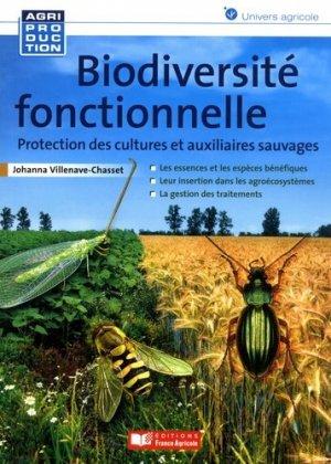 Biodiversité fonctionnelle - france agricole - 9782855575155 -