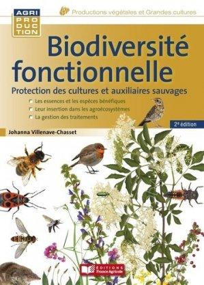 Biodiversité fonctionnelle - france agricole - 9782855576480 -