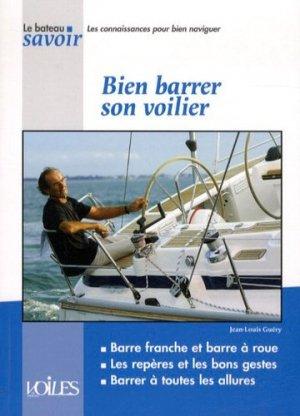 Bien barrer son voilier - voiles et voiliers - 9782916083582 -