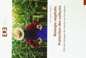 Biologie végétale : protection des cultures - editions universitaires europeennes - 9783639507263 -