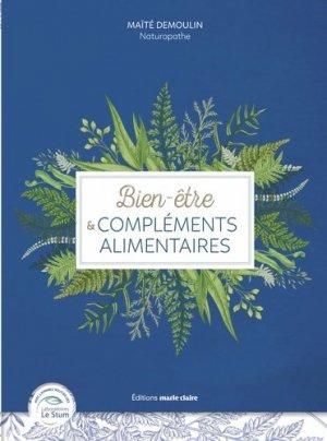 Bien-être et compléments alimentaires - marie claire editions - 9791032303627 -