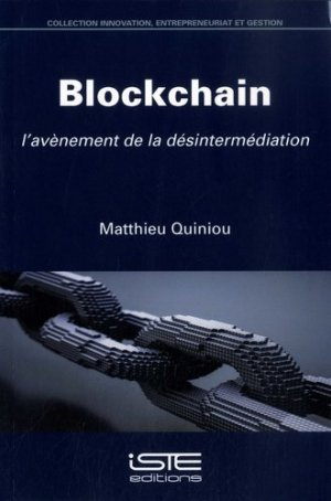 Blockchain - iste - 9781784056056 -
