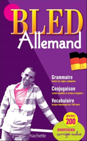 BLED ALLEMAND TOUT EN UN  - HACHETTE - 9782011714565 -