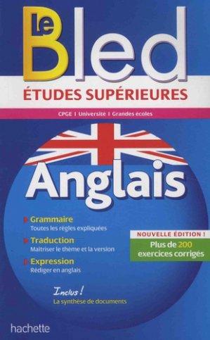 Bled études supérieures anglais - hachette - 9782017025948 -