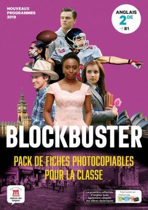 Blockbuster 2de - pack de fiches - Maison des langues - 9782356855459 -