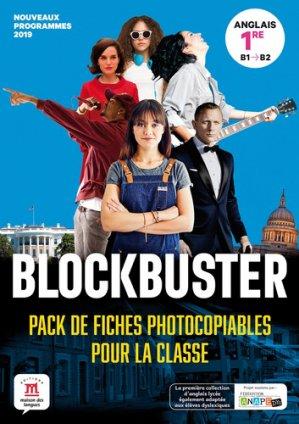 Blockbuster 1re - pack de fiches - Maison des langues - 9782356855503 -