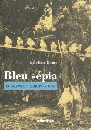 Bleu Sépia - atlantica - 9782758804369 -