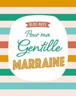Bloc-note pour ma gentille marraine - Chantecler - 9782803461981 -