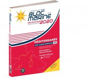 Bloc Marine Méditerranée 2020 - le figaro - 9782916175898 -