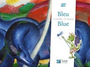 Bleu / blue - leon art et stories - 9791092232486 -