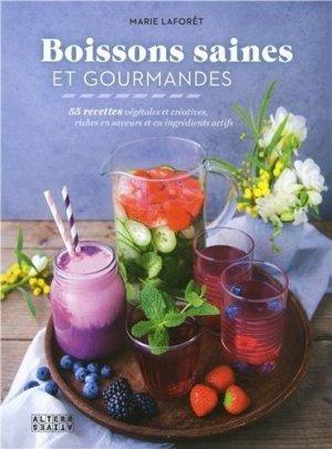 Boissons saines et gourmandes - alternatives - 9782072711305 -
