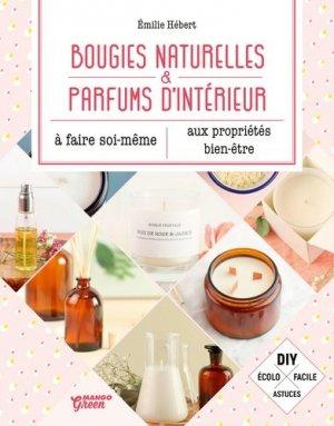 Bougies naturelles et parfums d'intérieur - Mango - 9782317020681
