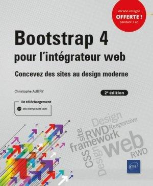 Bootstrap 4 pour l'intégrateur web - eni - 9782409022470 -
