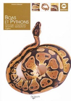 Boas et pythons - de vecchi - 9782732893617 -