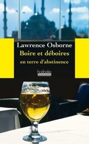 Boire et déboires en terre d'abstinence - hoebeke - 9782842305536 -