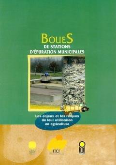 Boues de stations d'épuration municipales - itcf - 9782864924890 -