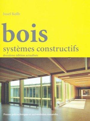 Bois - presses polytechniques et universitaires romandes - 9782880749477 -