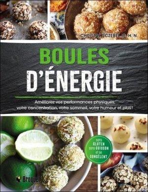 Boules d'énergie - Broquet - 9782896546350 -