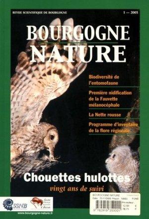 Bourgogne Nature N° 1/2005 : Chouettes hulottes. Vingt ans de suivi - Bourgogne-Nature - 9782919350001 -
