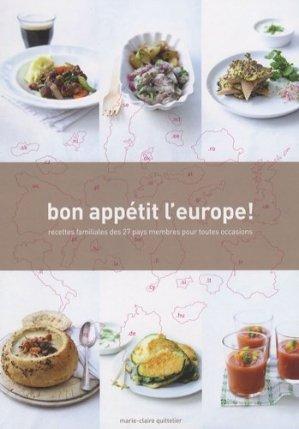 Bon appétit l'Europe ! Recettes familiales des 27 pays membres pour toutes occasions - BAI - 9789085864134 -