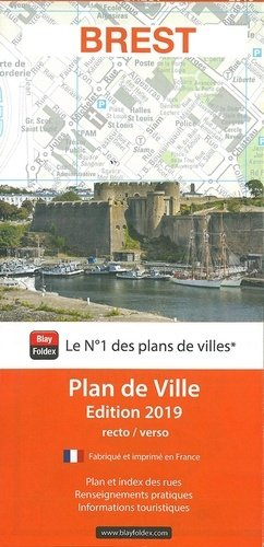 Brest. 1/11 000, Edition 2019 - Blay-Foldex - 9782309504694 -