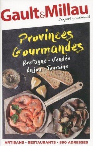 Bretagne, Vendée, Anjou, Touraine - gault et millau - 9782375570241 -