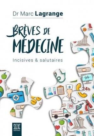 Brèves de médecine - Suzac - 9782490795093 -