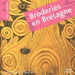 Broderies en Bretagne. Broderie pleine - Coop Breizh - 9782843466175 -