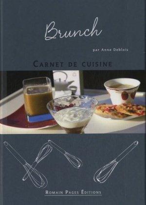 Brunch - Romain Pages - 9782843504549 -