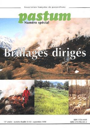 Brûlages dirigés - cardere - 9782912962010 -