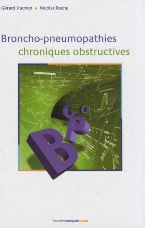 Broncho-pneumopathies chroniques obstructives - margaux orange - 9782914206099 -