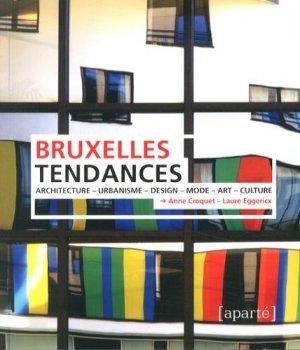 Bruxelles tendances - Editions Aparté - 9782930327389 -