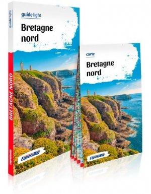 Bretagne Nord. Avec 1 Plan détachable - Express Map - 9788381901840 -