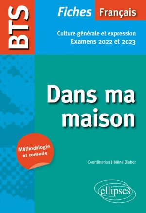 BTS Français - Examens 2022 et 2023 - Ellipses - 9782340048461 -