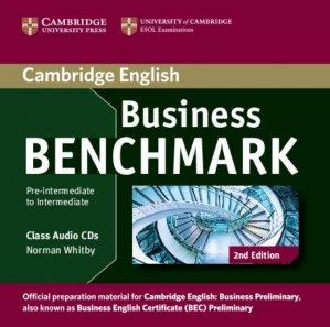 Business Benchmark Pre-intermediate to Intermediate Business Preliminary - Class Audio CDs (2) - cambridge - 9781107611030 -