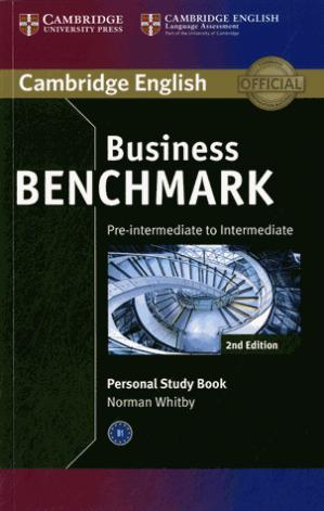 Business Benchmark Pre-intermediate to Intermediate BULATS and Business Preliminary - Personal Study Book - cambridge - 9781107628489 -