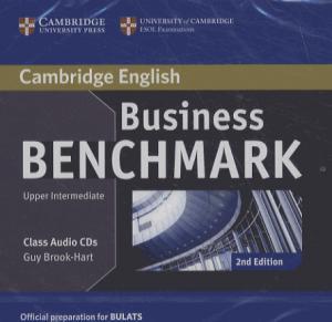 Business Benchmark Upper Intermediate BULATS - Class Audio CDs (2) - cambridge - 9781107680036 -