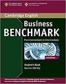 Business Benchmark Pre-intermediate to Intermediate Business Preliminary - Student's Book - cambridge - 9781107693999 -