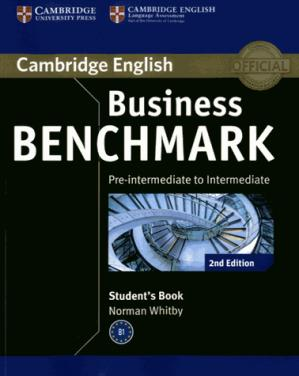 Business Benchmark Pre-intermediate to Intermediate BULATS - Student's Book - cambridge - 9781107697812 -