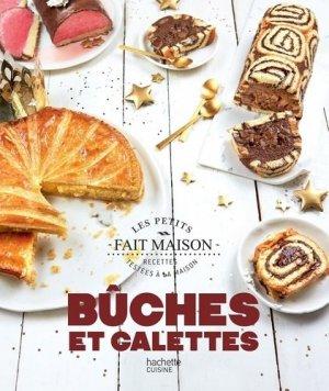 Bûches et galettes - hachette - 9782017089384 -