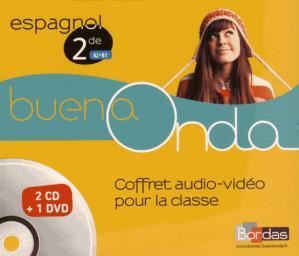BUENA ONDA ESPAGNOL 2DE A2 B1 COFFRET  - BORDAS - 9782047332115 -