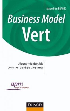 Business model Vert - Dunod - 9782100547692 -