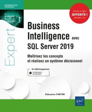 Business Intelligence avec SQL Server 2019 - Editions ENI - 9782409023293 -