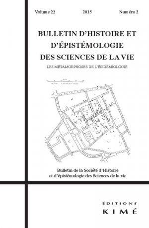 Bulletin d'histoire et d'épistémologie des sciences de la vie - kime - 9782841747283 -