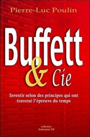 Buffett & Cie ! - Editions Le Dauphin Blanc - 9782894366158 -