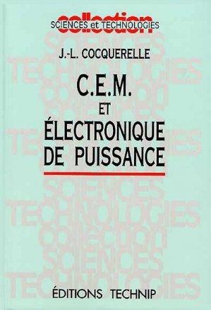 c.e.m. et electro de puissance - technip - 9782710807643 -